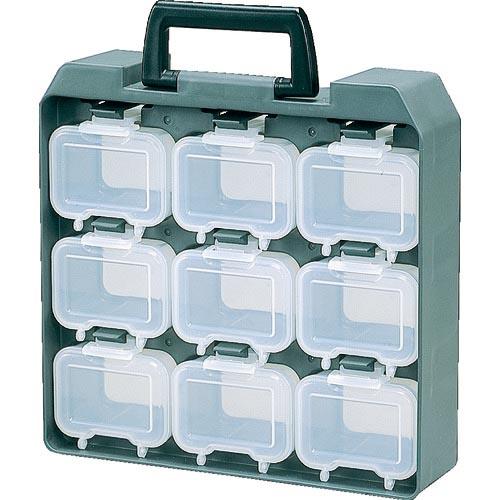 工具箱 ツールバッグ マーケット パーツケース IRIS 231010 パーツ収納 ☆最安値に挑戦 ユニットケース ウエストケース9個付 231010 株 アイリスオーヤマ UC9 UC-9