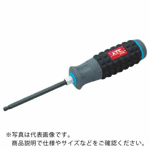 ドライバー 六角棒レンチ ボールポイント六角棒ドライバー 新着 割引も実施中 KTC 樹脂柄ボールポイントヘキサゴンドライバ1 4inch 株 D1H14BP D1H-1 4BP 京都機械工具
