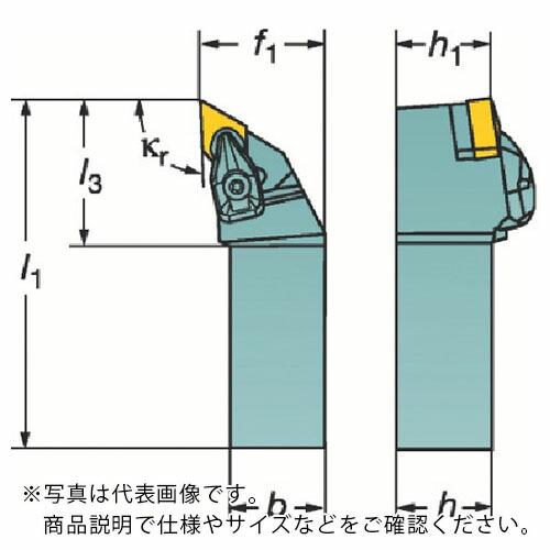 条件付送料無料 切削工具 旋削 フライス加工工具 ついに再販開始 ホルダー サンドビック 株 ネガチップ用シャンクバイト トラスト DDJNL2525M15 コロターンRC DDJNL コロマントカンパニー