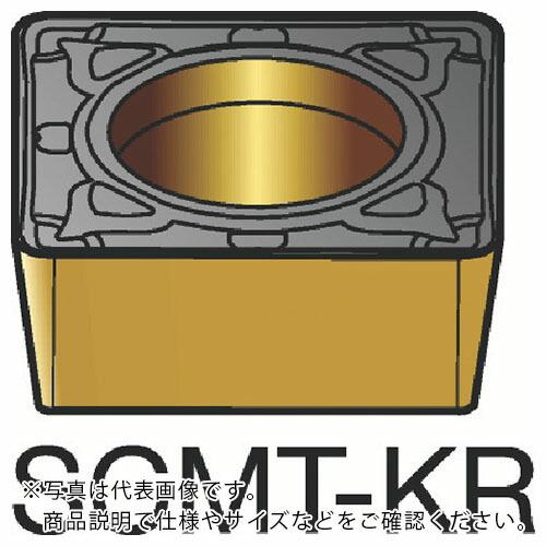 ( サンドビック(株)コロマントカンパニー SCMT 【10個セット】 サンドビック ) SCMT120412KR 旋削用ポジ・チップ コロターン107 3210