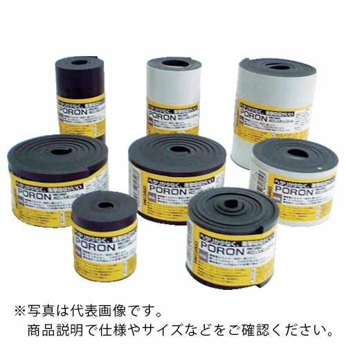 マイクロセルウレタンPORON (株)イノアックコーポレーション L24T-3100-24M ) L24T310024M ( 黒 3×100mm×24M巻(テープ イノアック