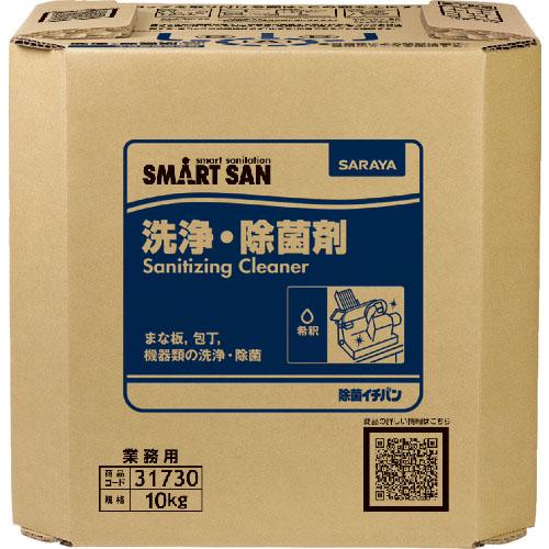 最安値で  【スーパーSALE対象商品】サラヤ 洗浄除菌剤 除菌イチバン 10kg BIB ( 31730 ) サラヤ(株), テックシアター 673f55f5