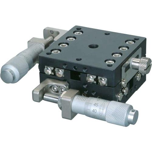 中央精機 ハイグレードアルミXYステージ 50×50 LD-5047-S1 ( LD5047S1 ) 中央精機(株)