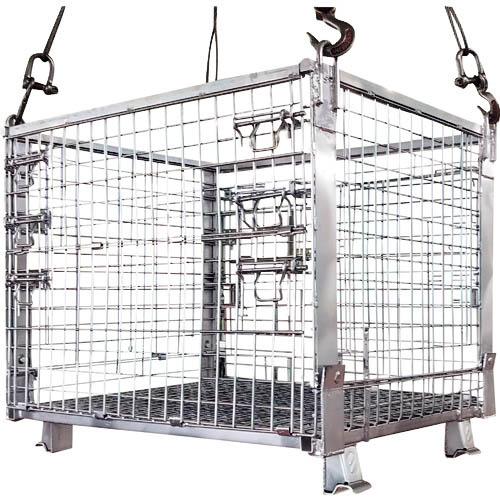 条件付送料無料 物流 ついに再販開始 保管用品 コンテナ 豊富な品 パレット メッシュパレット サンキン 1000X800X850 サンキンパレット 株 造船用パレット Z3 Z-3