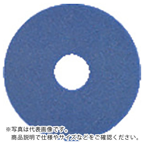 3M 483X82mm 【メーカー取寄】 青 スリーエム  BLU ジャパン(株)コマーシャルケア販売部 ブルークリーナーパッド BLU483X82 (5枚入) ( ) 483X82