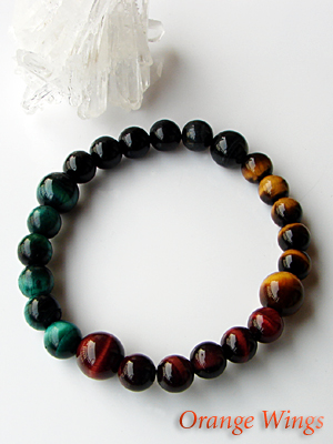 4 color tiger eye bracelets strongest in history