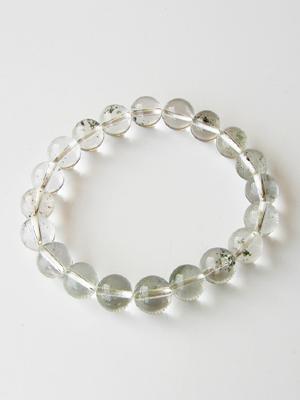 AAAA grade ガネッシュヒマール produced (made in Himalayas) luxury natural Himalayan Crystal bracelet 10 mm