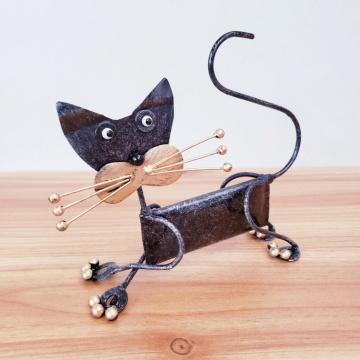 ブリキ レビューを書けば送料当店負担 犬 現品 いぬ バリ雑貨 犬の置物 アジアンインテリア ブリキの置物