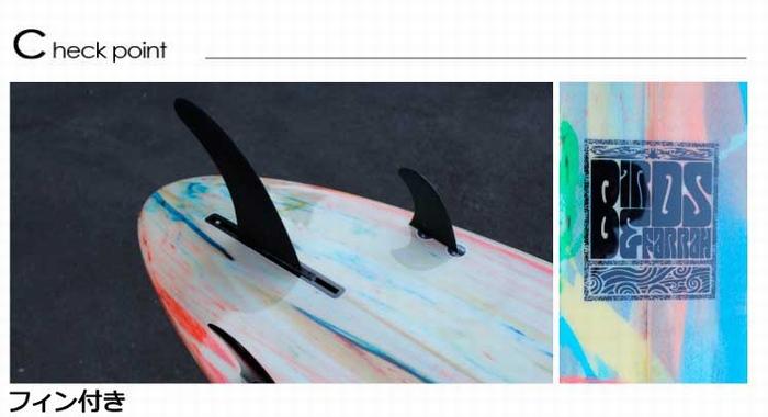 """鼻子騎手·粉絲板BIRDS&FARRAH/酒吧&farasafubodo長7'4""""寬22 1/4""""厚度2 7/8""""FUN BOARD 5彩色"""