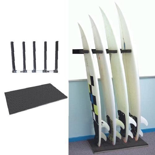 U0026EARTH Surfboard Rack OCEAN / Ocean U0026 Earth STACK RAX+EVA PAD FLOOR MAT For Surfboard  Rack + Mat Set