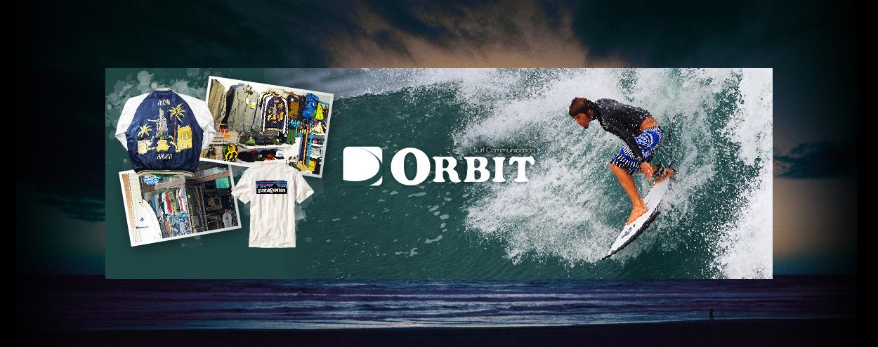 ORBIT:サーフィン&アメカジ&アウトドア 正規代理店