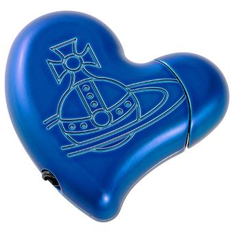 ヴィヴィアンウエストウッド(Vivienne Westwood)ハート型ライター(ブルー)【あす楽対応_関東】
