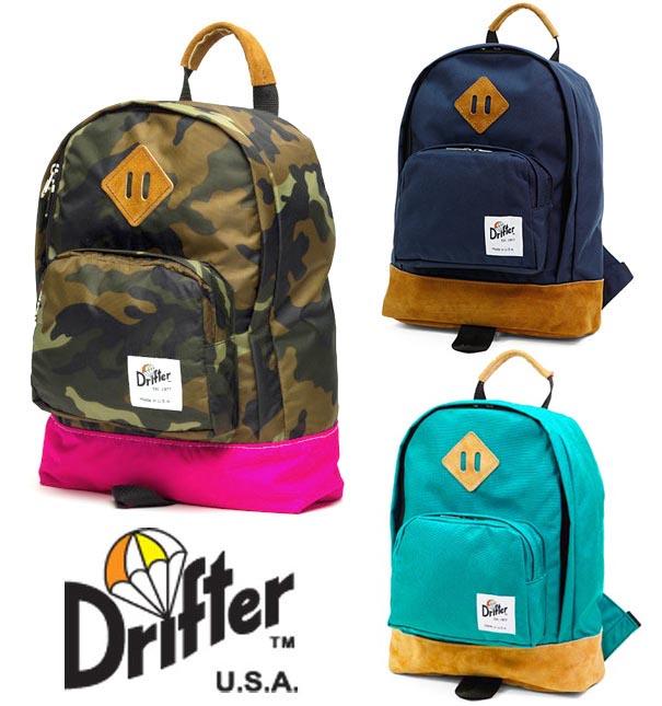 ドリフター(Drifter)KIDS BACK PACK/キッズバックパック/子供用リュックサック/レザー×ナイロン【あす楽対応_関東】