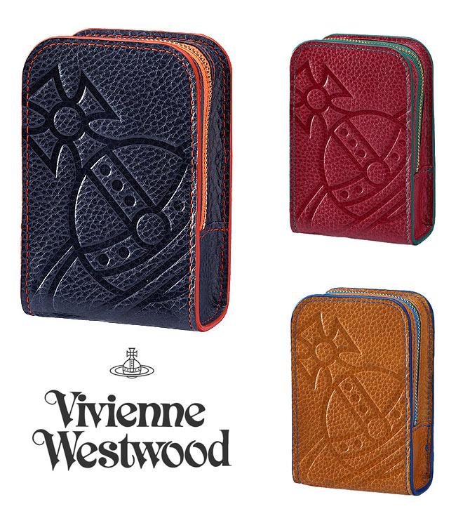 ヴィヴィアンウエストウッド(Vivienne Westwood)イタリアンレザー オーブ刻印シガレットケース/煙草ケース【あす楽対応_関東】