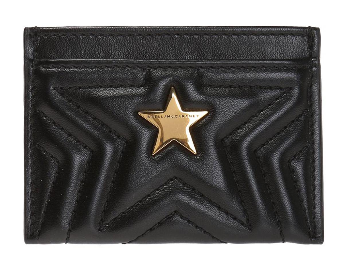 ステラマッカートニー(STELLA McCARTNEY)スターカードケース 名刺入れ パスケース ステラスター キルティングカードホルダー/STELLA STAR Card Case Holder【あす楽対応_関東】