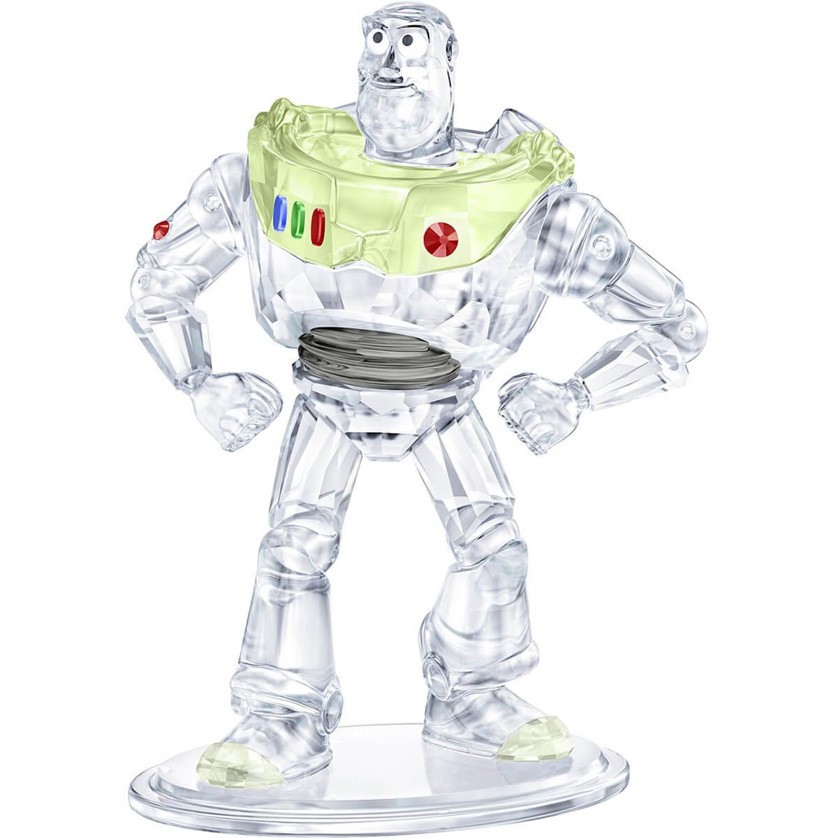 送料無料 スワロ社紙袋 ケアカード 箱付き スワロフスキー SWAROVSKI 往復送料無料 トイ 当店限定販売 ストーリー バズ クリスタルオブジェ Pixar's Toy Story スワロフスキー社製置物 Disney ライトイヤー あす楽対応_関東