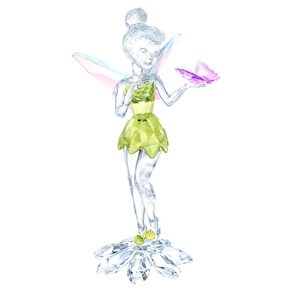 スワロフスキー(SWAROVSKI)ティンカーベルとチョウ/クリスタルオブジェ/ディズニーコラボ/Tinker Bell with Butterfly/スワロフスキー社製置物【あす楽対応_関東】
