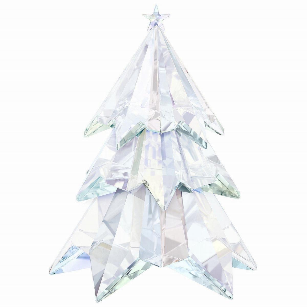 スワロフスキー(SWAROVSKI)クリスマスツリー クリスタルオブジェ/オーナメント/Crystal Aurora Boreale Christmas Tree Crystal