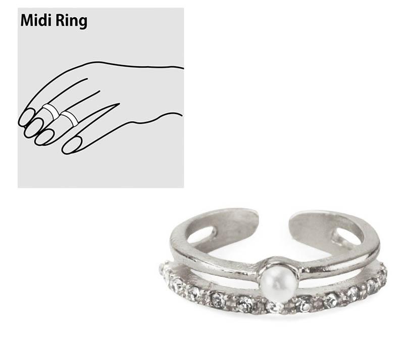 Kitsch キッチュ ミディリング ファランジリング 今だけスーパーセール限定 指の関節にする指輪 おすすめ Love あす楽対応_関東 Midi シルバー Unconditionally Ring