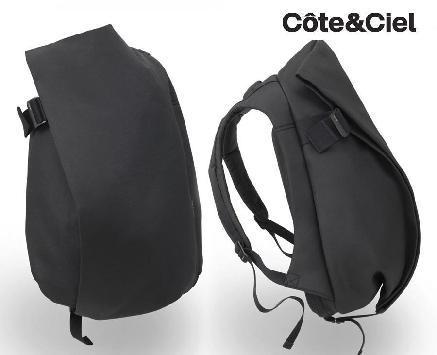 コートエシエル(Cote&Ciel)イザールリュックサック/PCバックパック/Isar Rucksack Black/コートアンドシエル(ブラック)【あす楽対応_関東】