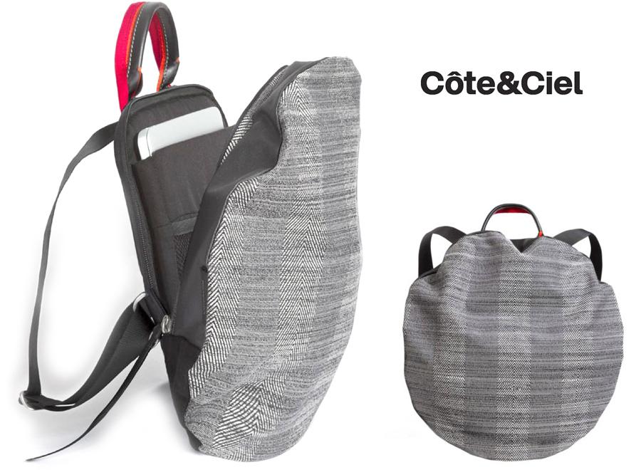 コートエシエル(Cote&Ciel) 2Wayリュックサック/Moselle Concrete Herringbone Backpack/コートアンドシエル/13インチPCバックパック【あす楽対応_関東】