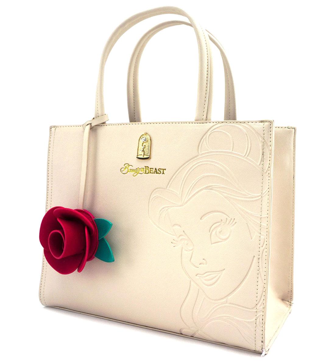 ラウンジフライ(Loungefly)美女と野獣ベル&2Wayショルダーバッグ/ハンドバッグ/Disney Belle Embossed Tote Bag【あす楽対応_関東】