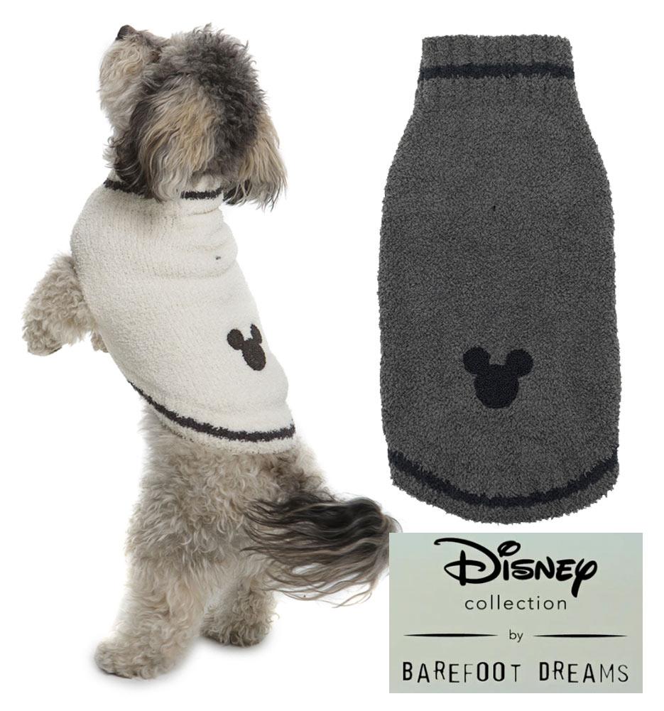 ベアフットドリームス×ディズニーコラボ ミッキーマウスドッグセーター/犬の洋服/Barefoot Dreams CLASSIC DISNEY MICKEY MOUSE PET SWEATER/DNPCC1065【あす楽対応_関東】