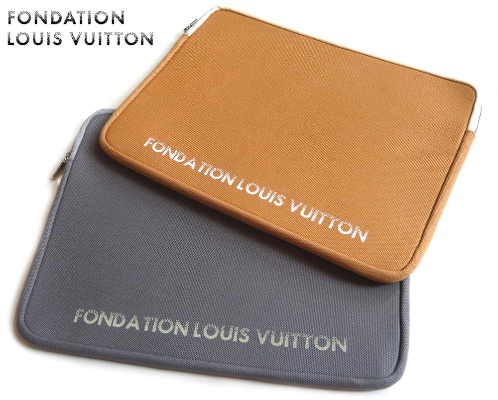 安心の実績 高価 買取 強化中 パリ限定 LOUIS VUITTON ルイヴィトン美術館 ノートパソコン タブレットケース FONDATION 15