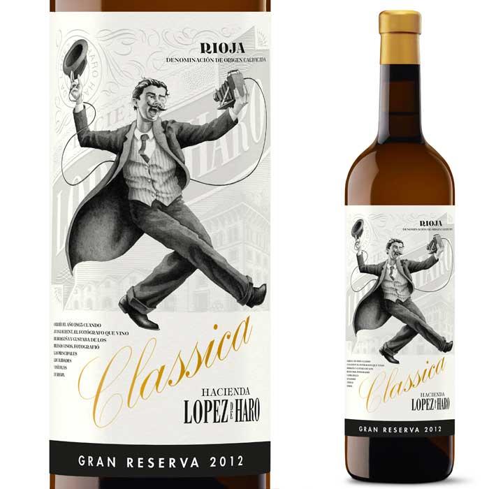 伝統の地リオハ産白ワイン ロペス・デ・アロ クラシック グランレセルバ ブランコ [2012] ボデガ クラシカ 750ml(白ワイン)【辛口】