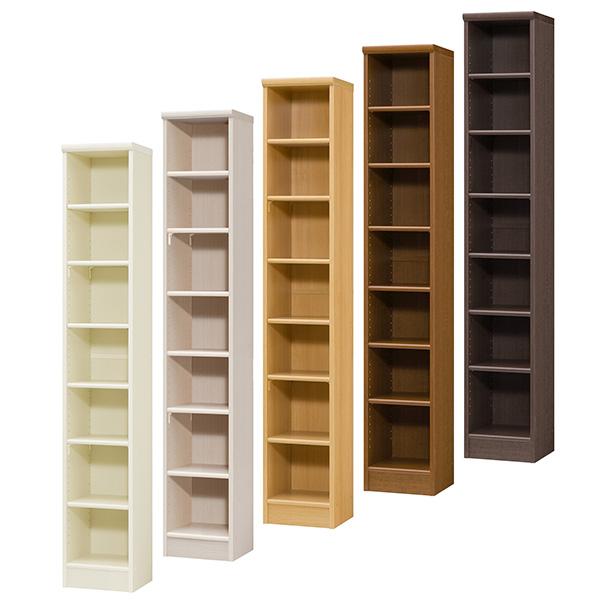 カラーボックス 本棚 書棚 飾り棚 整理棚 レディメイドラック(幅28.6×奥行31×高さ178cm)