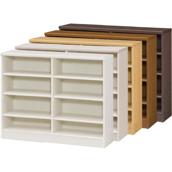 カラーボックス 本棚 書棚 飾り棚 整理棚 レディメイドラック(幅116.5×奥行31×高さ88.1cm)