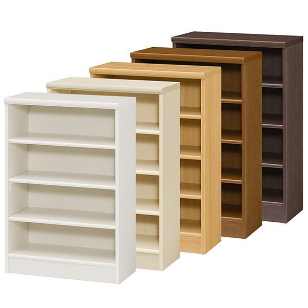 カラーボックス 本棚 書棚 飾り棚 整理棚 レディメイドラック(幅59.2×奥行31×高さ88.1cm)
