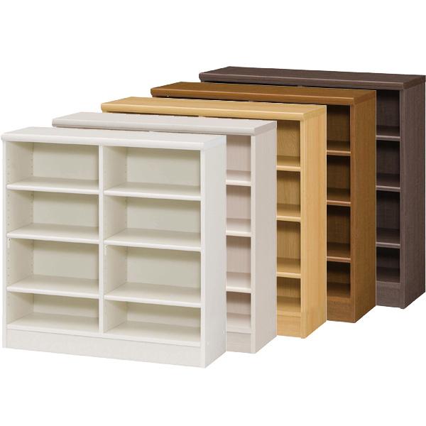 カラーボックス 本棚 書棚 飾り棚 整理棚 レディメイドラック(幅86.5×奥行31×高さ88.1cm)