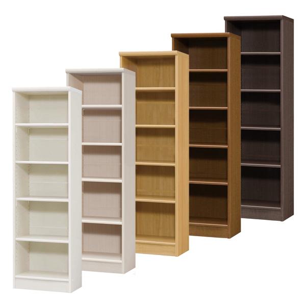 カラーボックス 本棚 書棚 飾り棚 整理棚 レディメイドラック(幅44.2×奥行31×高さ149.9cm)