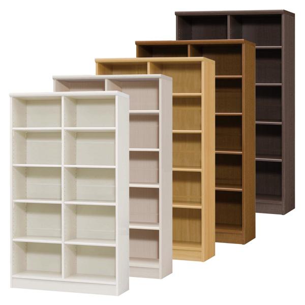 カラーボックス 本棚 書棚 飾り棚 整理棚 レディメイドラック(幅86.5×奥行31×高さ149.9cm)
