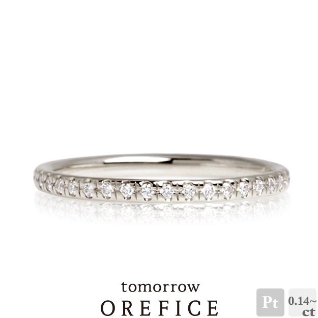 Pt950プラチナ×ダイヤモンド「フルエタニティー」リング 指輪★エタニティ ダイヤ 指輪 オレフィーチェ