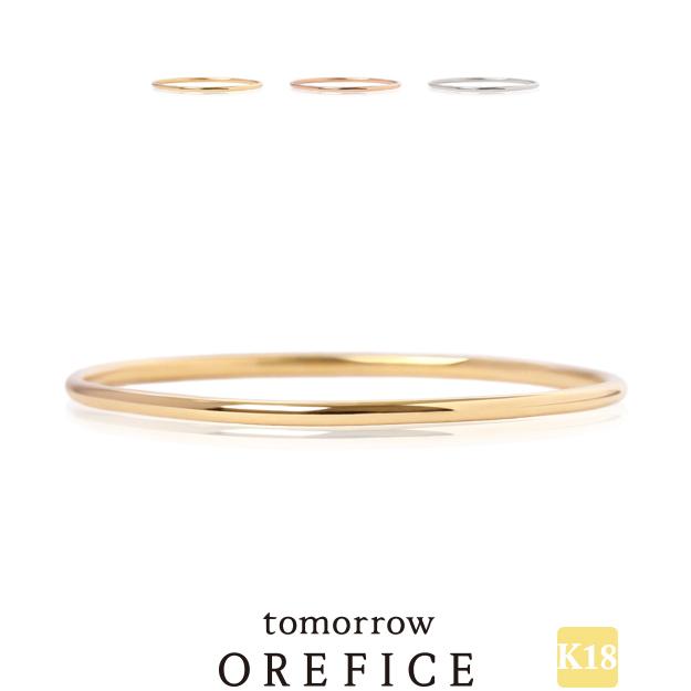 K18ゴールド ノア リング 指輪 18k 18金 関節 K18 ファランジ Orefice 店内全品対象 オレフィーチェ 流行 細 ストッパー