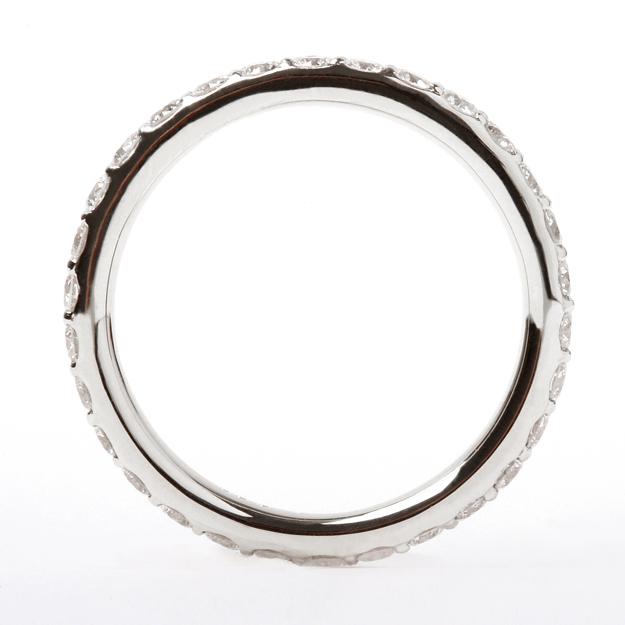 シンプル K18ゴールド×ダイヤモンド 指輪 フル エタニティ オレフィーチェ リング☆0.5ct 「ソニア フルエタニティ」 ダイア 18金