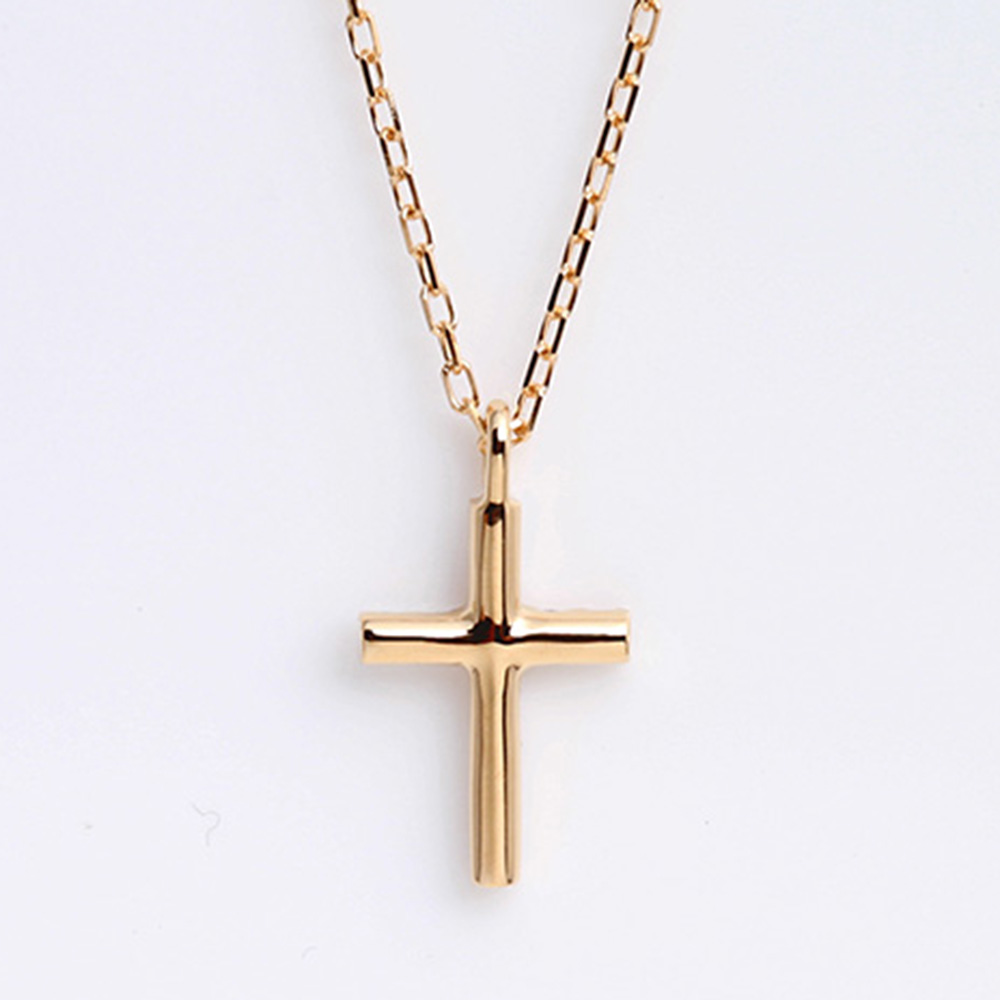 Jewelry atelier orefice rakuten global market k18 gold x diamond k18 gold x diamond cross necklace pendant 01ct 18k 18 karat gold cross cross mozeypictures Gallery