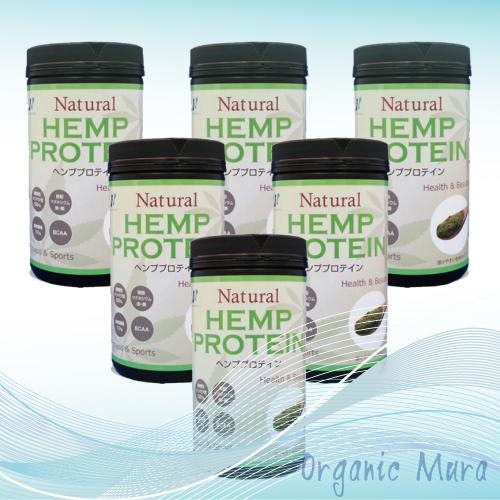 【送料無料】自然栽培ヘンプ(麻)プロテイン マルチミネラルビタミン 454g 6個セット