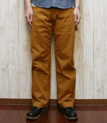桃太郎JEANS別注 BEAR FOOT ベアフット Made in Japan 薄手の帆布を使用したぺインターパンツ『10号帆布 PAINTER PANTS』BF-0330(Other pants)