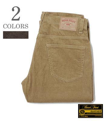 BEAR FOOT ベアフット 5ポケットコーデュロイパンツ『5POCKET CORDUROY PANTS』【アメカジ・ワーク】BF-0369(Other pants)