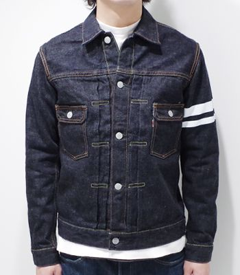 MOMOTARO JEANS 桃太郎ジーンズ 15.7oz特濃インディゴデニムジャケット『DOUBLE POCKET JACKET』【アメカジ・ワーク】2105SP(Other jacket)(std-djk-momotaro)
