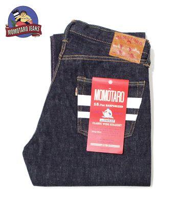 MOMOTARO JEANS 桃太郎ジーンズ 出陣モデル定番『15.7oz 特濃インディゴ出陣クラシックストレート』【アメカジ・デニム】0905SP(Denim)(std-jeans-momotaro)