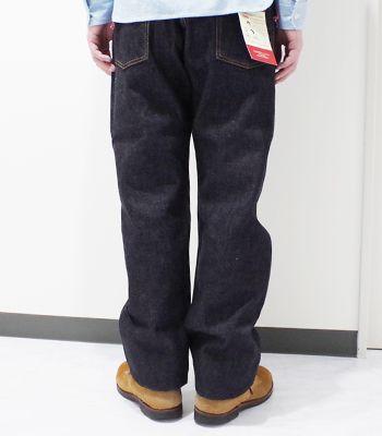 "MOMOTARO JEANS桃太郎牛仔裤复古标签""15.7oz特濃靛蓝古典笔直""0901(Denim)"