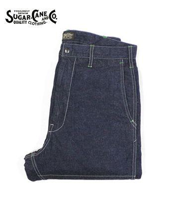 SUGAR CANE シュガーケーン Made in JAPAN|デニム|ハンティングパンツ『11oz. DENIM HUNTING PANTS』【アメカジ・ワーク】SC41926A(Other pants)