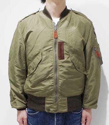 BUZZ RICKSON'S バズリクソンズ JACKET,FLYOMG,LIGHT|フライトジャケット『L-2 AMERICAN PAD & TEXTILE CO.』【ミリタリー・フライト】BR11130(Flight jacket)(std-fj-buzz)
