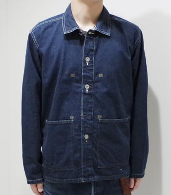 BUZZ RICKSON'S バズリクソンズ U.S.ARMY|デニムワーキングジャケット|M.O.D.『ARMY DENIM PULL OVER JACKET』【ミリタリー・ワーク】BR14095(Other jacket)