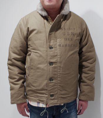 BUZZ RICKSON'S バズリクソンズ Navy Department|デッキジャケット『Type N-1 SS-317 BARBERO』【ミリタリー・フライト】BR14549(Flight jacket)