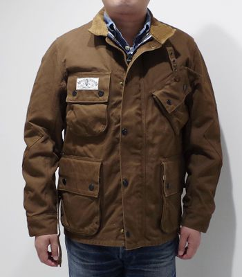 SUGAR CANE×Mr.FREEDOM SURPLUS Made in JAPAN|マルホランド・ドリズル・キング『13oz. BROWN DUCK MULHOLLAND DRIZZLE-KING』【アメカジ・ワーク】SC14524(Other jacket)